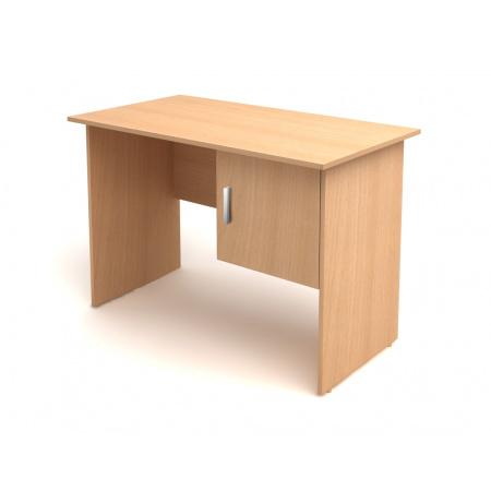 Стол письменный Канц СК26.10, 1- тумбовый с дверкой, 1100*600*750, бук невский