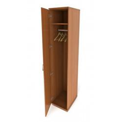 Шкаф для одежды Канц ШК42.10, узкий глубокий, 350*520*1830, бук невский