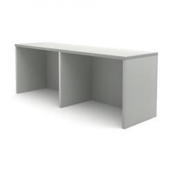 Надстройка на стол компьютерный Канц НК38.20, 1000*280*360, пепел