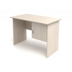 Стол письменный Канц СК50.15, 1- тумбовый с дверкой 1200*600*750, дуб молочный