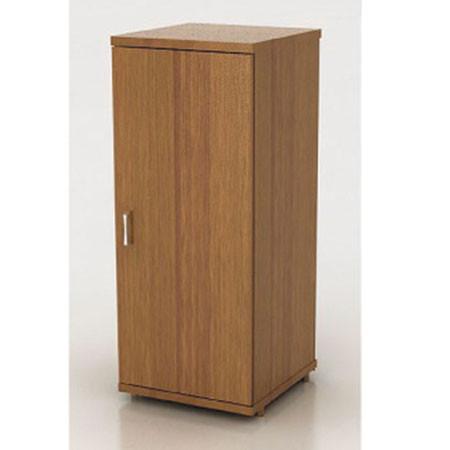Шкаф низкий Монолит, узкий, закрытый, 1 дверь, 374*390*870, орех гварнери