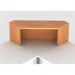 Надстройка на стол Монолит НМ42.1, угловая, 996*264*346, бук бавария