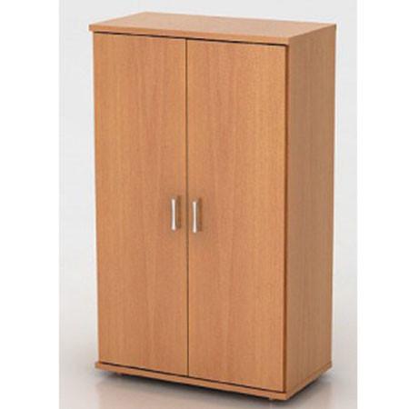 Шкаф средний Монолит, закрытый, 2 двери, 744*390*1252, бук бавария