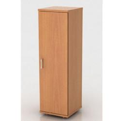 Шкаф средний Монолит, узкий, закрытый, 1 дверь, 374*390*1252, бук бавария