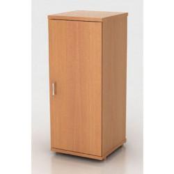 Шкаф низкий Монолит, узкий, закрытый, 1 дверь, 374*390*870, бук бавария