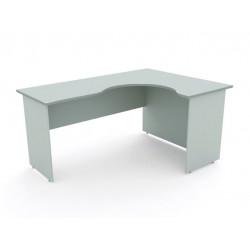 Стол эргономичный Монолит СМ32.11, правый, 1604*1204*756, серый
