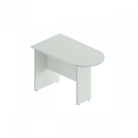 Приставка Монолит ПМ20.11, к столу переговоров, 1204*702*756, серый