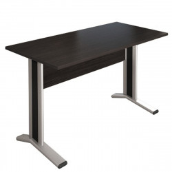 Стол письменный Монолит КМ59.14, на металлокаркасе, 1204*704*756, венге, СМ8.14+ОМ02