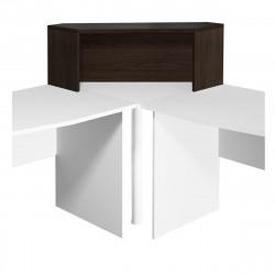 Надстройка на стол Монолит НМ42.14, угловая, 996*264*346, венге