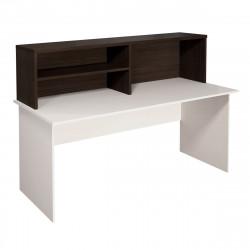 Надстройка на стол Монолит НМ38.14, 1404*264*346, венге