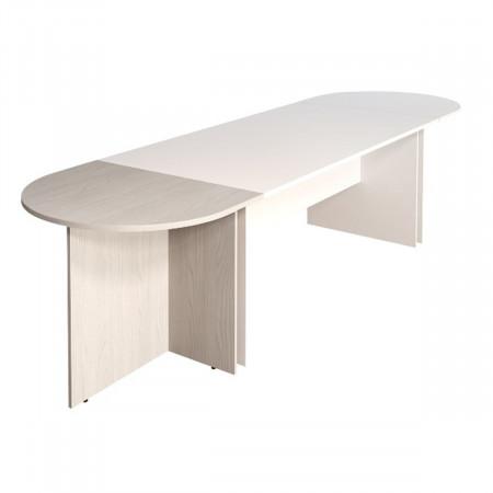 Приставка Монолит ПМ19.15, к столу переговоров, 904*702*756, дуб молочный