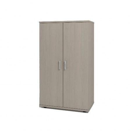 Шкаф средний Монолит, закрытый, 2 двери, 744*390*1252, дуб молочный