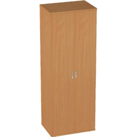 Шкаф высокий Авантаж, закрытый, 2 двери, 714*378*1924, миланский орех