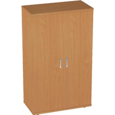 Шкаф низкий Авантаж, закрытый, 2 двери, 714*378*1202, миланский орех