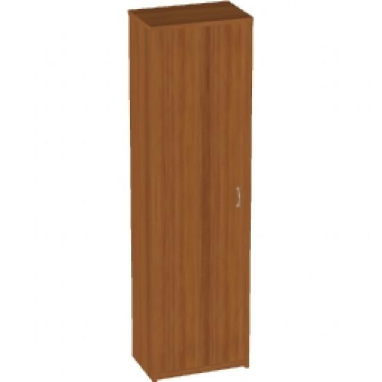Шкаф для одежды Арго А-308, узкий, 55*37*200, орех