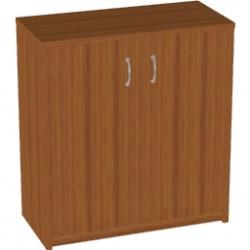 Шкаф низкий Арго, закрытый, 2 двери, 77*37*85, орех