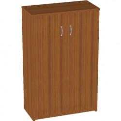 Шкаф средний Арго, закрытый, 2 двери, 77*37*122, орех