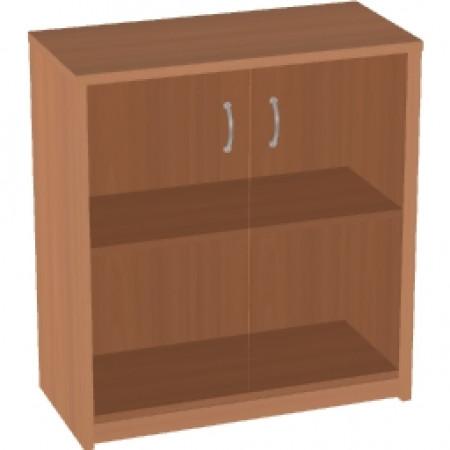 Шкаф низкий Арго, закрытый, со стеклом тонированным, 2 двери, 77*37*85, груша арозо