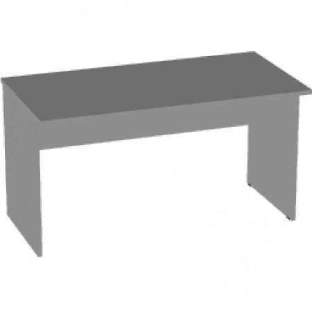 Стол письменный Арго А-003, 140*73*76, серый