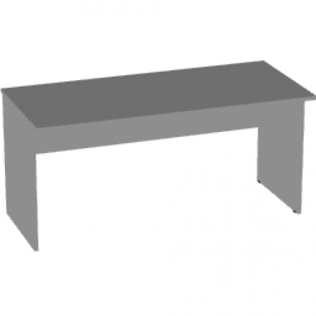 Стол письменный Арго А-004, 160*73*76, серый