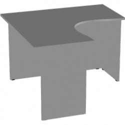 Стол  эргономичный Арго А-203,60, 120*120*76, серый