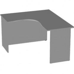 Стол эргономичный Арго А-204,60, левый, 140*120*76, серый