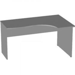 Стол эргономичный Арго А-200, правый, 140*90/73*76, серый