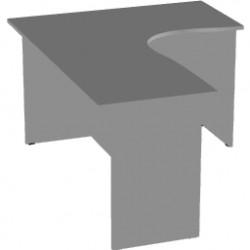 Стол эргономичный Арго А-206,60, правый, 160*120*76, серый