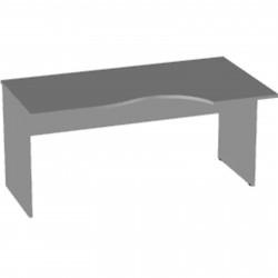 Стол эргономичный Арго А-202, правый, 160*90/73*76, серый