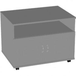 Тумба для оргтехники Арго АТ-10, 80*60*60, серый