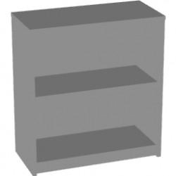 Стеллаж низкий Арго А-302, 77*37*85, серый