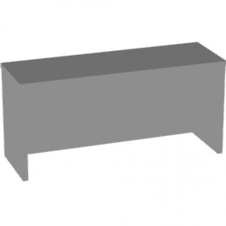 Надставка на стол Арго А-501, 90*30*42, серый