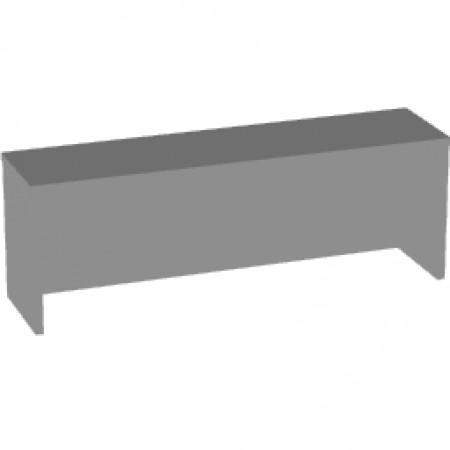 Надставка на стол Арго А-502, 120*30*42, серый