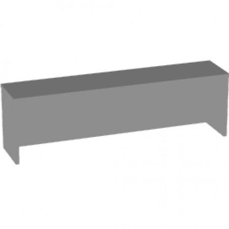 Надставка на стол Арго А-503, 140*30*42, серый