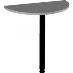 Приставка Арго А032+опора, 73*40*750, серый