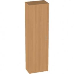 Шкаф для одежды Арго А-308, узкий, 55*37*200, бук