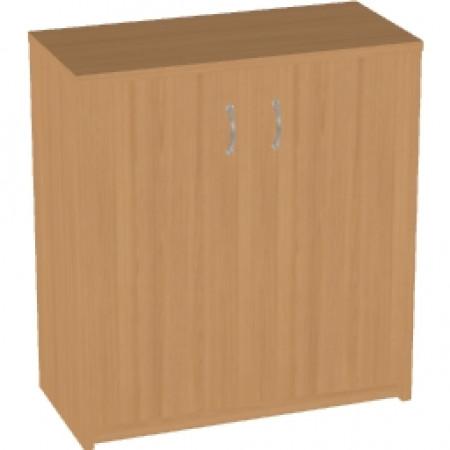 Шкаф низкий Арго, закрытый, 2 двери, 77*37*85, бук