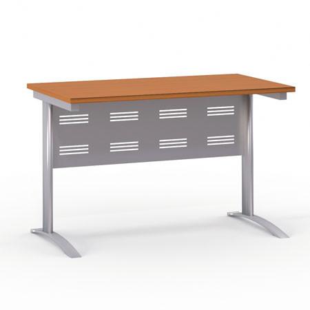 Стол письменный Формула 1201ФР, на металлокаркасе, 120*67*75, ольха