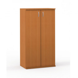 Шкаф средний Формула 364ФР, закрытый, 2 двери, 80*45*148, ольха, 360ФР+631ФР
