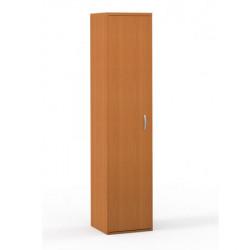 Шкаф высокий Формула 306ФР, узкий, 1 дверь, 42*38*186, ольха