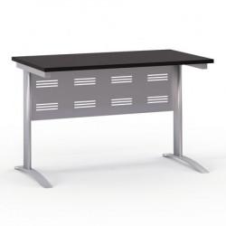 Стол письменный Формула 1201ФР, на металлокаркасе, 120*67*75, венге темный