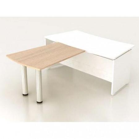 Приставка стола руководителя Модерн К17.18, 1200*900*740, дуб шамони светлый