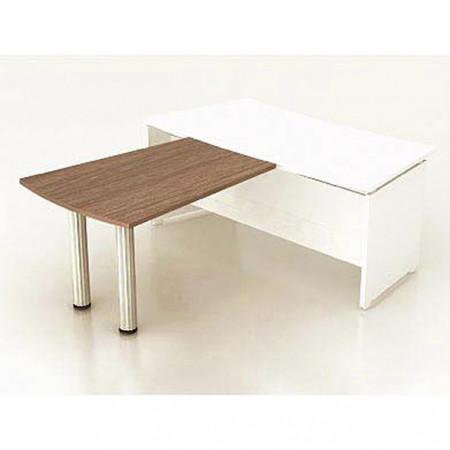 Приставка стола руководителя Модерн К17.19, 1200*900*740, дуб шамони темный