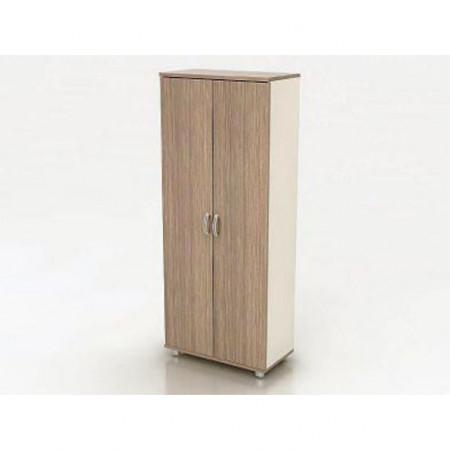 Шкаф высокий Модерн К6.19, закрытый, 2 двери, 850*440*2082, дуб шамони темный