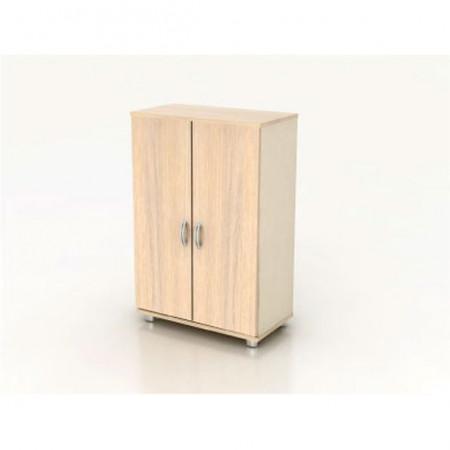 Шкаф средний Модерн К2.18, закрытый, 2 двери, 850*440*1288, дуб шамони светлый