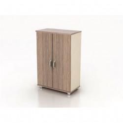Шкаф средний Модерн К2.19, закрытый, 2 двери, 850*440*1288, дуб шамони темный