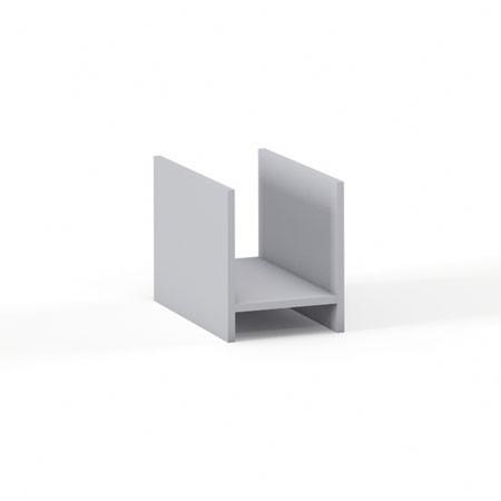 Подставка под системный блок Эдем Э-20.0, 265*460*320, платина