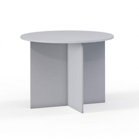 Стол для заседаний Эдем Э-21.5, 1000*1000*750, платина