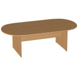 Стол для заседаний Эдем Э-24.5, 2400*1200*750, вишня оксфорд