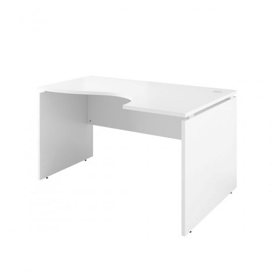 Стол криволинейный Дублин ДБ07.30, правый, 1400*900*750, белый
